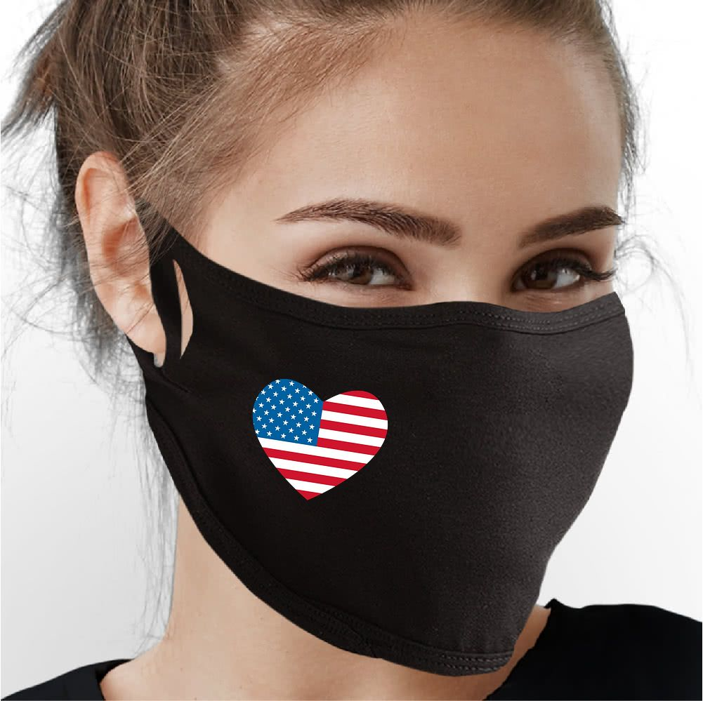 Love for USA Face Mask - Cloth