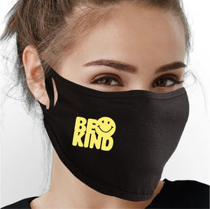 Be Kind (Happy) Face Mask - Cloth