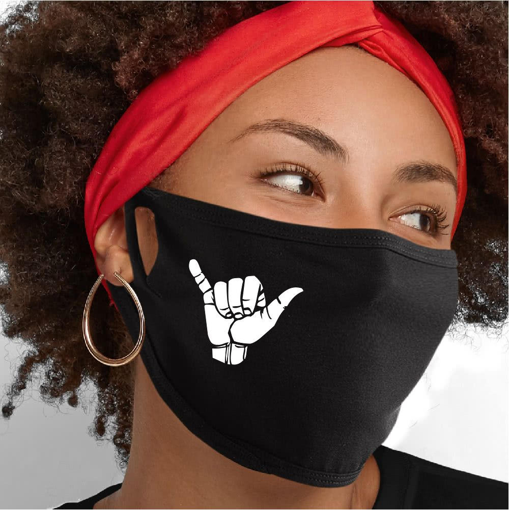 Hang Ten Face Mask - Cloth
