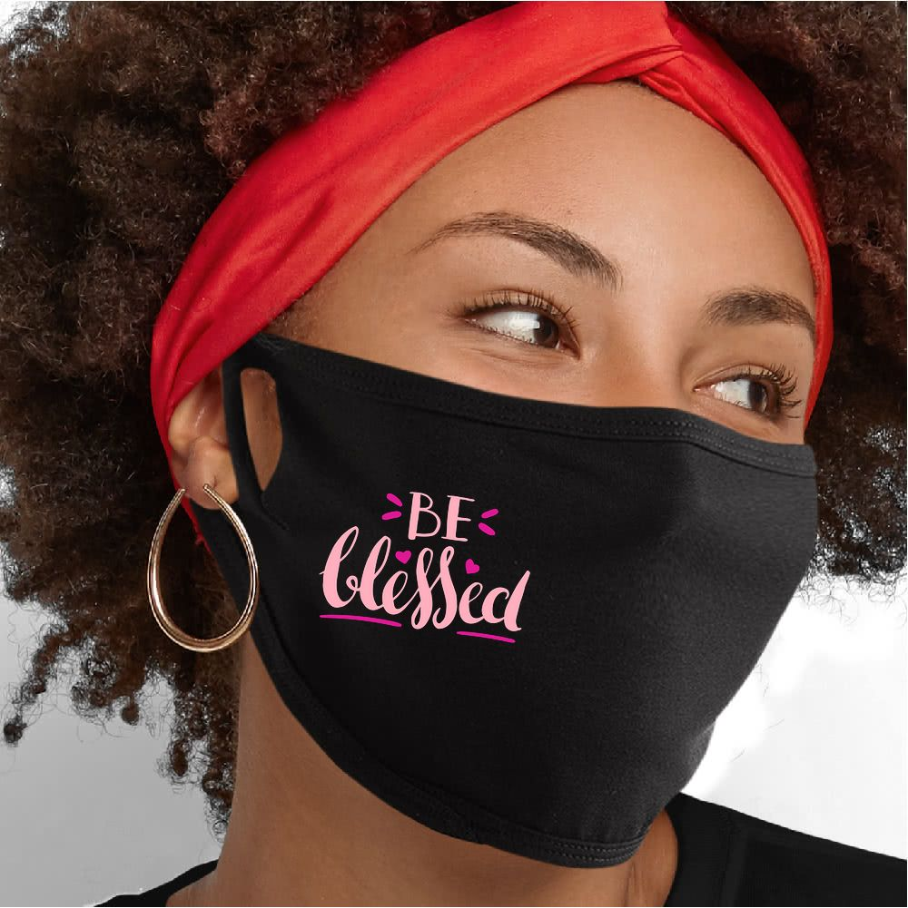 Be Blessed Face Mask - Cloth