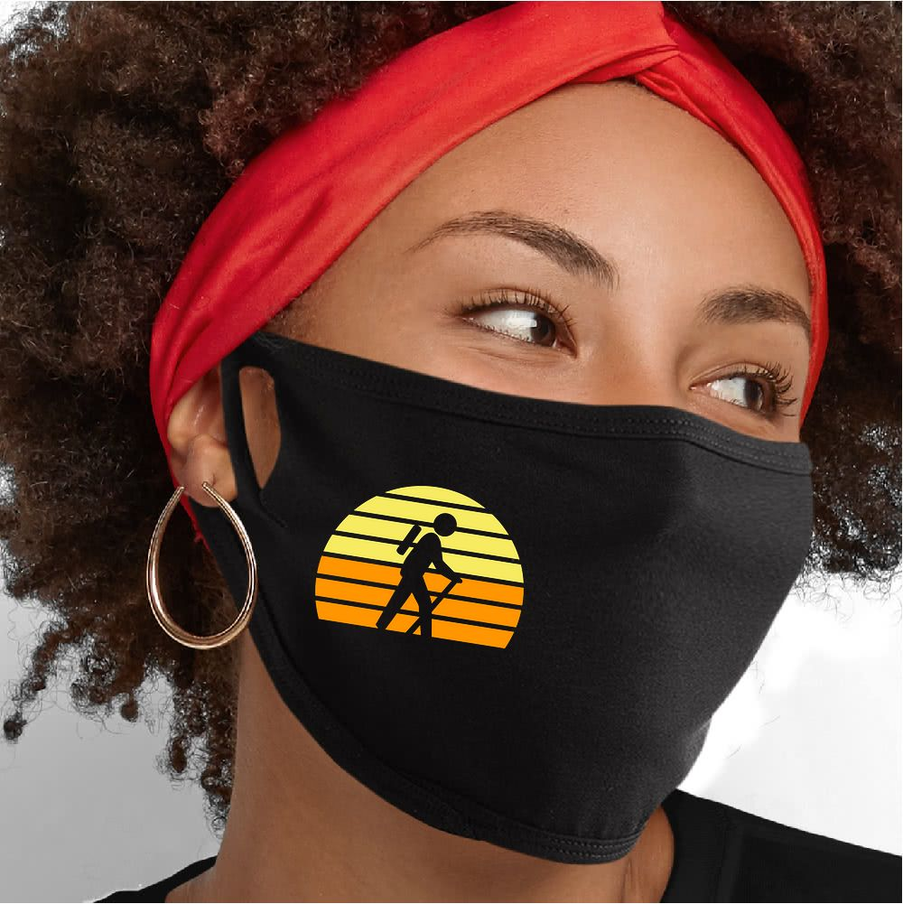 Retro Hike Face Mask - Cloth