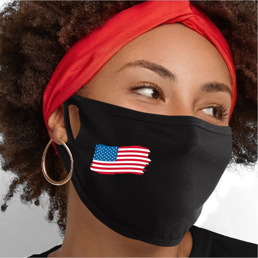 US Flag Face Mask - Cloth