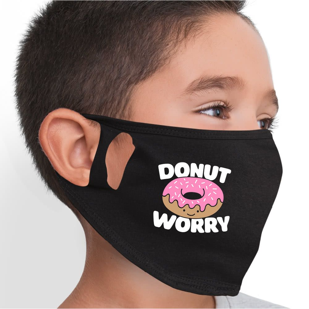 Donut Worry Face Mask - Cloth