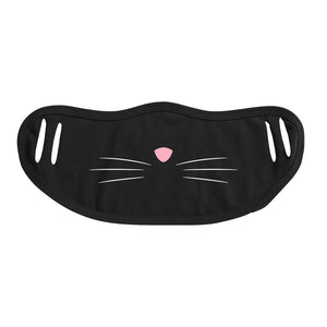 Black Cat Covid Costume - Mask & Hanes Heavyweight Hoodie