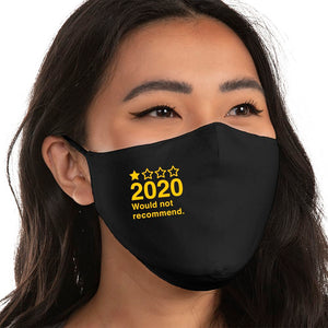 2020 - Would not recommend. - Super Comfort Cotton Mask Face Mask - Cloth