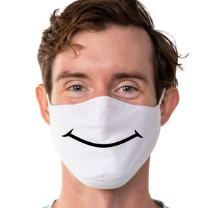 Smile - Super Comfort Cotton Mask Face Mask - Cloth