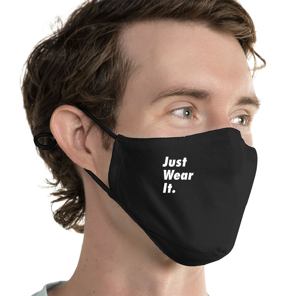 Just Wear It. - Super Comfort Cotton Mask Face Mask - Cloth