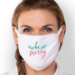 Be Merry - Triple-Ply Mask Face Mask - Cloth