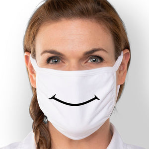 Smile - Triple-Ply Mask Face Mask - Cloth