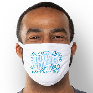 Happy Holidays - Triple-Ply Mask Face Mask - Cloth