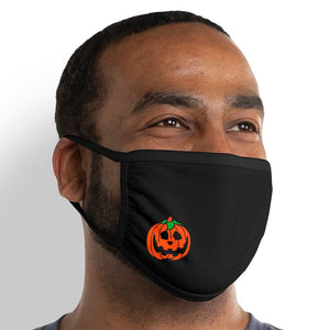 Pumpkin - Triple-Ply Mask Face Mask - Cloth