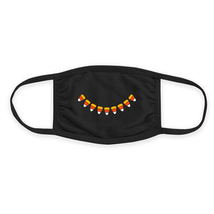Candy Corn Smile - Triple-Ply Mask