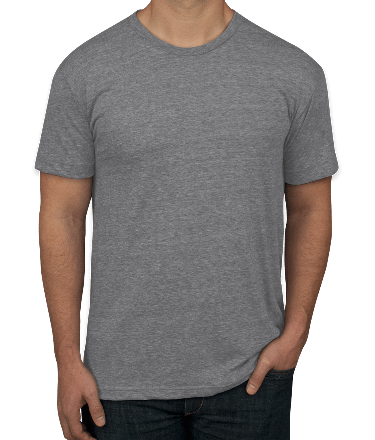 American Apparel USA-Made Tri-Blend Track T-shirt
