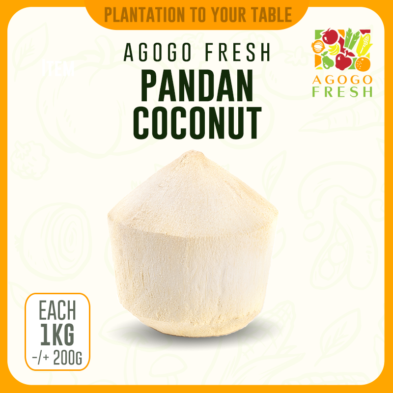 Diamond Cut Pandan Coconut
