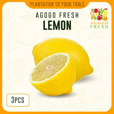 Lemon (3pcs)