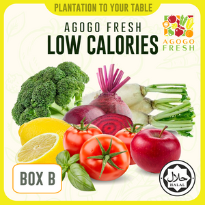 [Veg/Fruits Box] Box B Low Calories