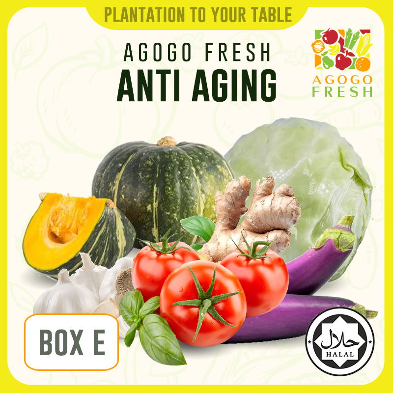 [Veg/Fruits Box] Box E Anti Aging