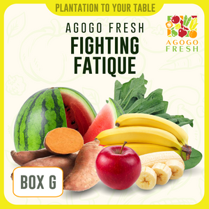 [Veg/Fruits Box] Box G Fighting Fatigue