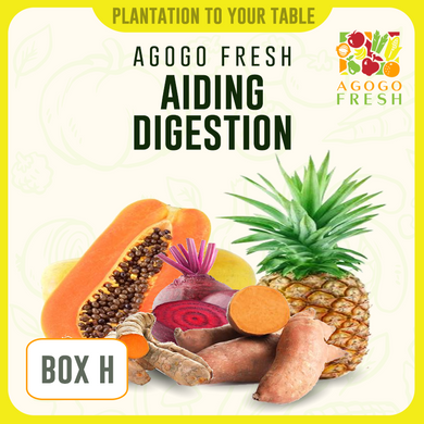 [Veg/Fruits Box] Box H Aiding Digestion