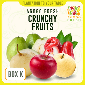[Veg/Fruits Box] Box K Crunchy Fruits