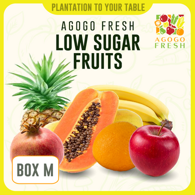 [Veg/Fruits Box] Box M Low Sugar Fruits