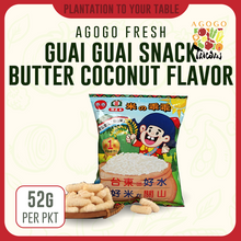 Load image into Gallery viewer, Guai Guai Rice Crackers - Butter Coconut (52g)