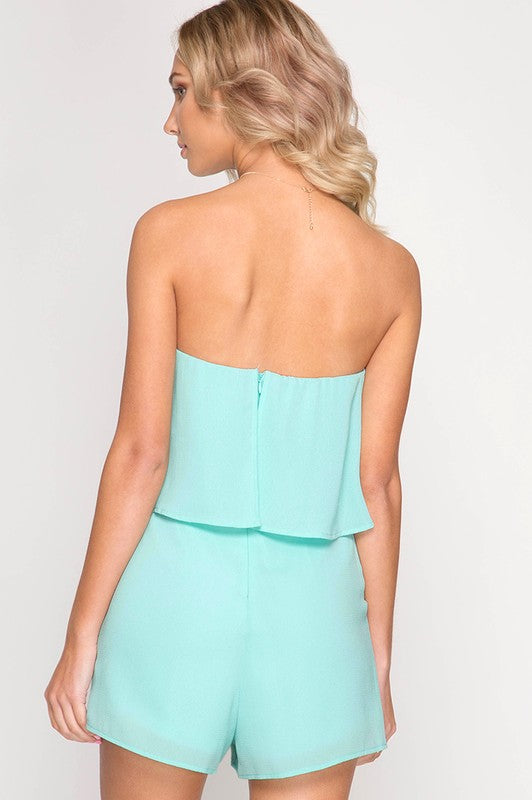 Mint Kinsley Romper