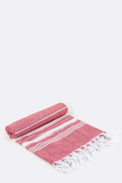 Turkish Towel - Red
