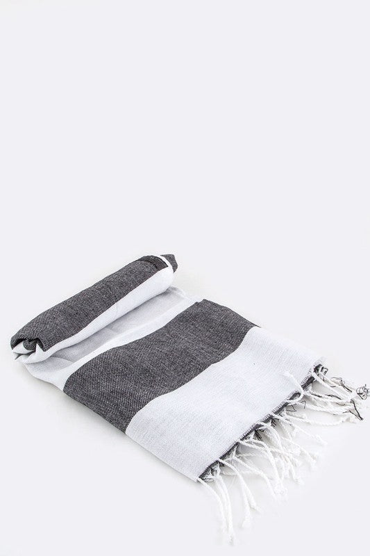 Turkish Towel - Black