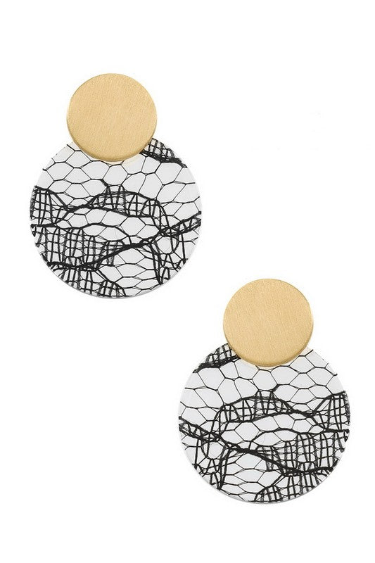 Savannah Earring - White