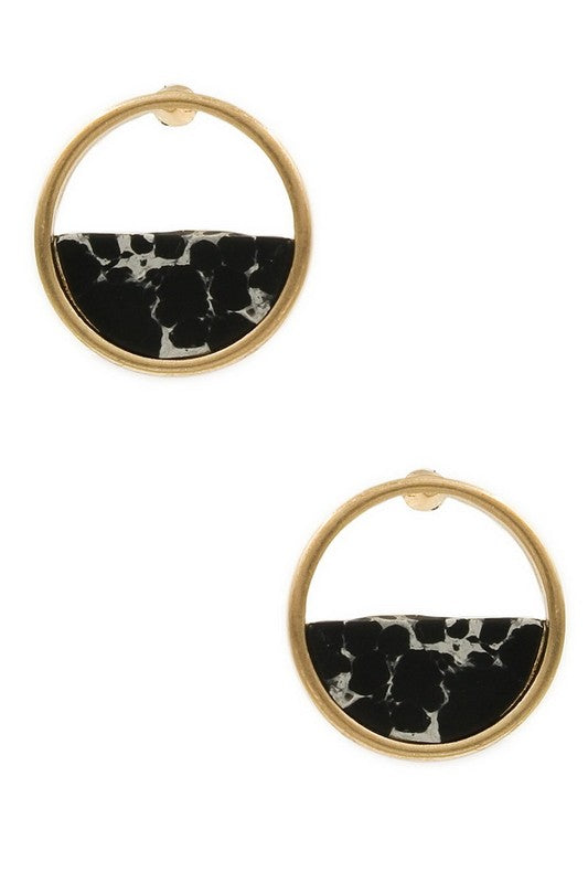 Riley Earring - Black