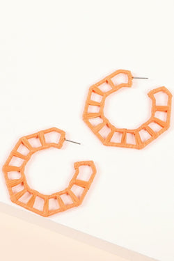 Skylar Earring - Orange
