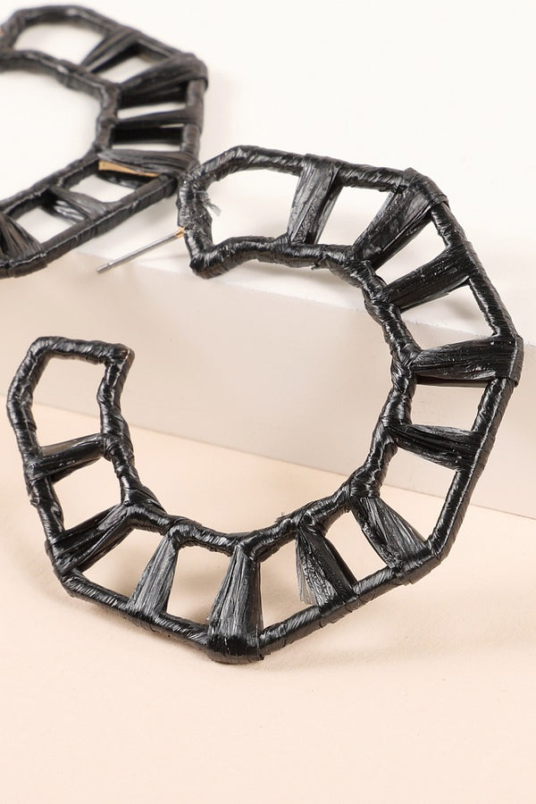 Skylar Earring - Black