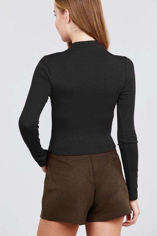 Natalie Turtleneck - Black