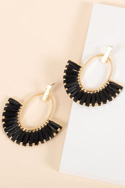 Abbey Earrings - Black