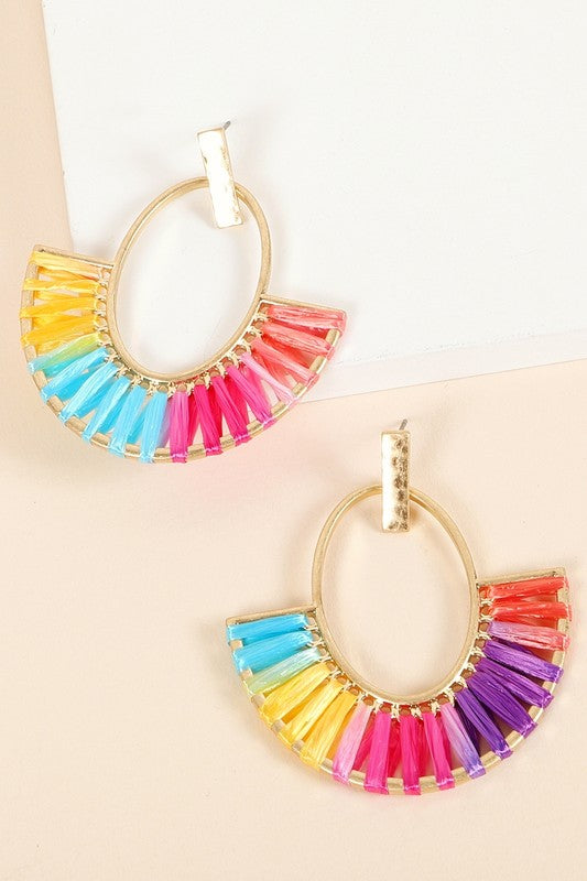 Abbey Earrings - Multi