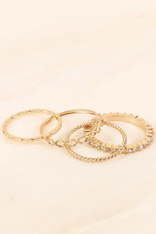 Leah Rings - Gold
