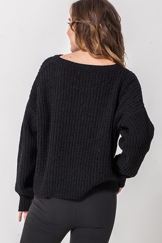 Haley Sweater - Black