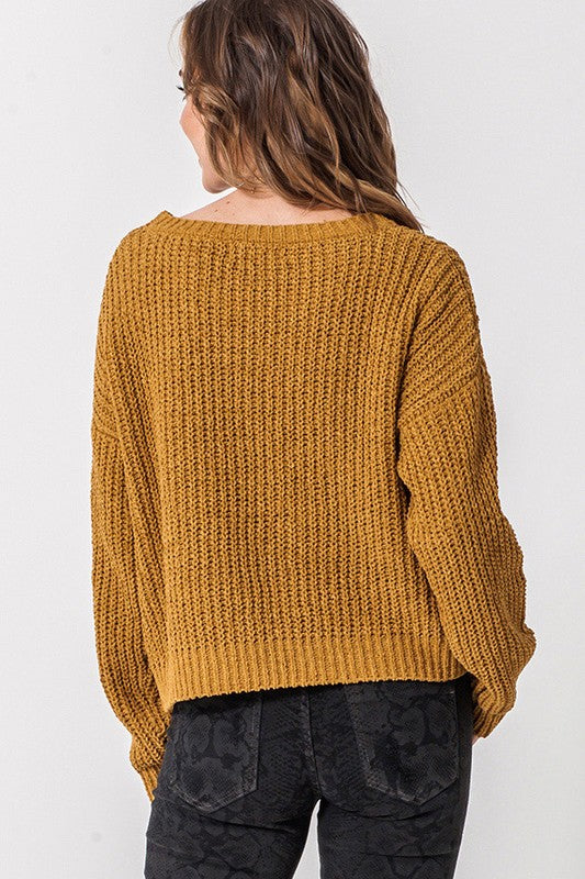 Haley Sweater - Mustard