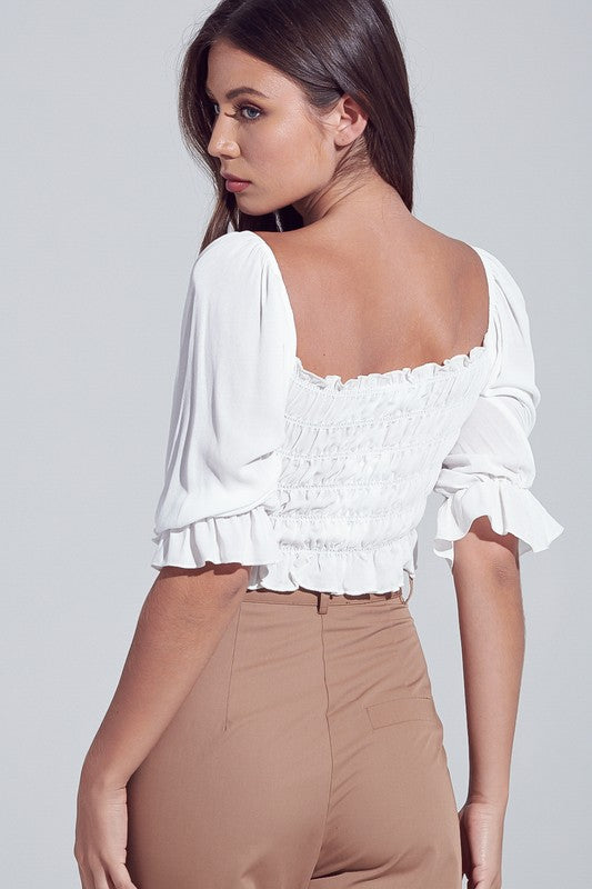 Lexi Top - White
