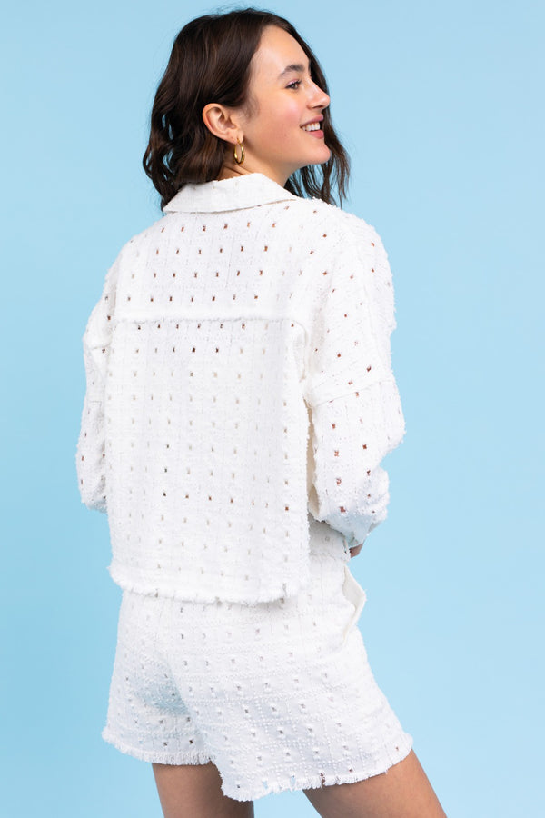 Cameron Jacket - White