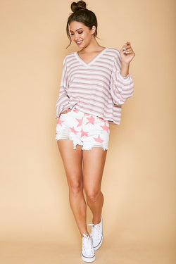 Luna Short - White