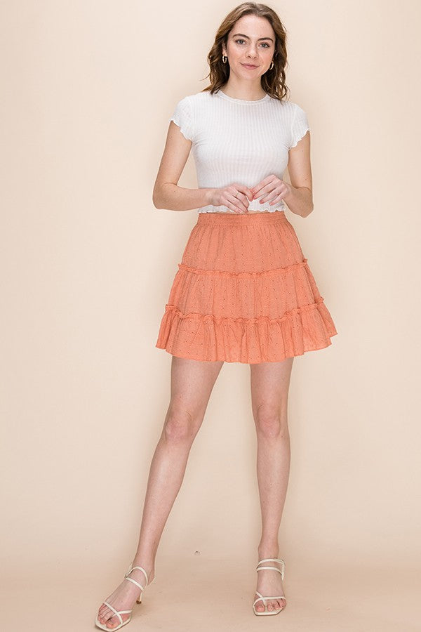 Alyssa Skirt - Orange