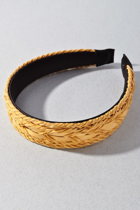 Taylor Headband - Yellow