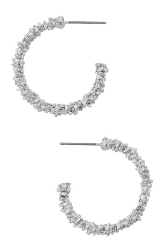Carla Earrings - Silver
