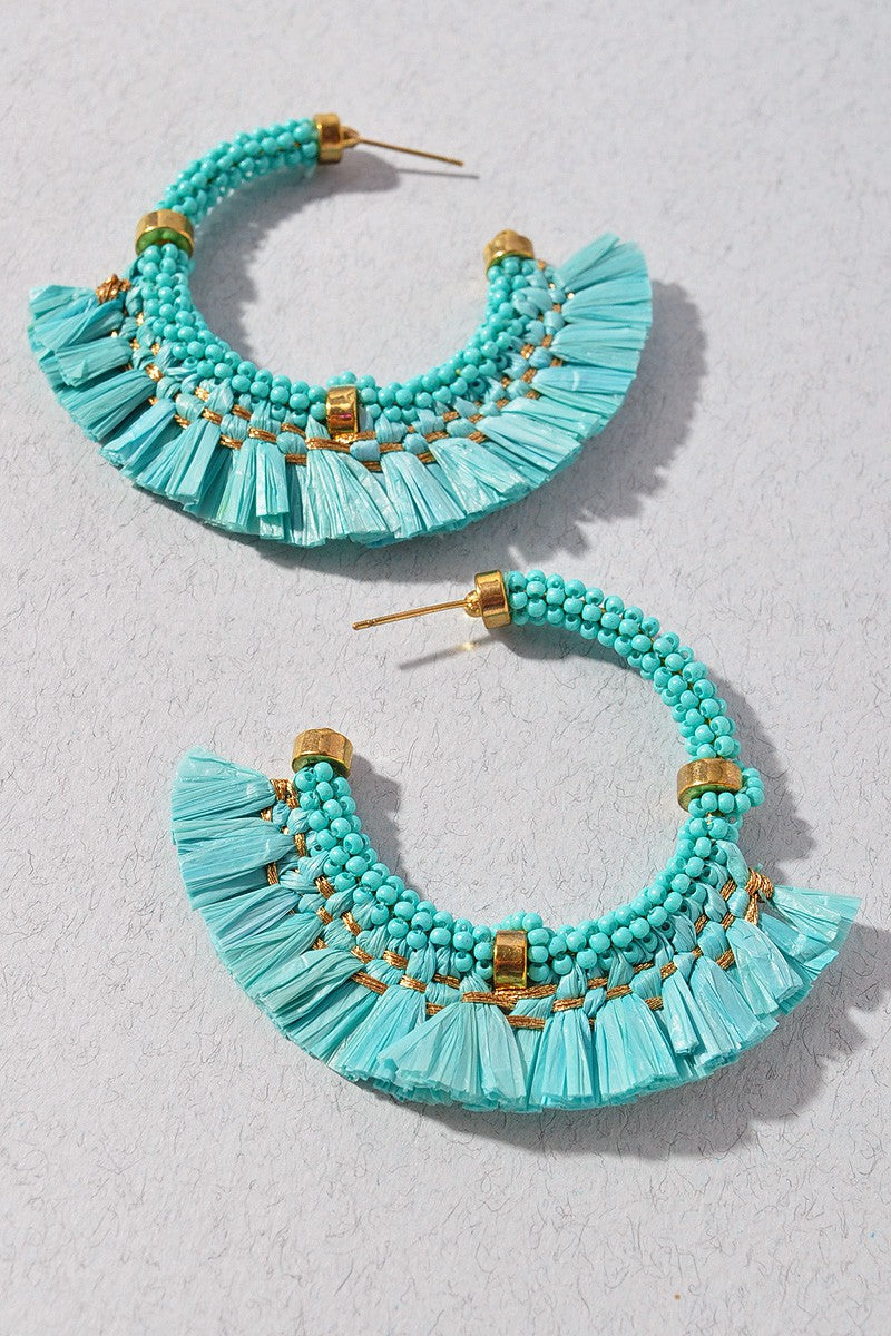 Willow Earrings - Turquoise