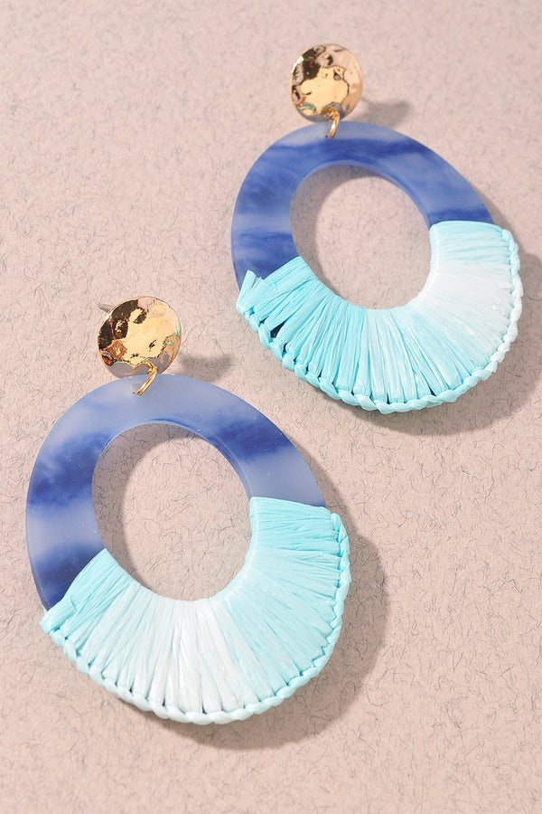 Larissa Earrings - Blue