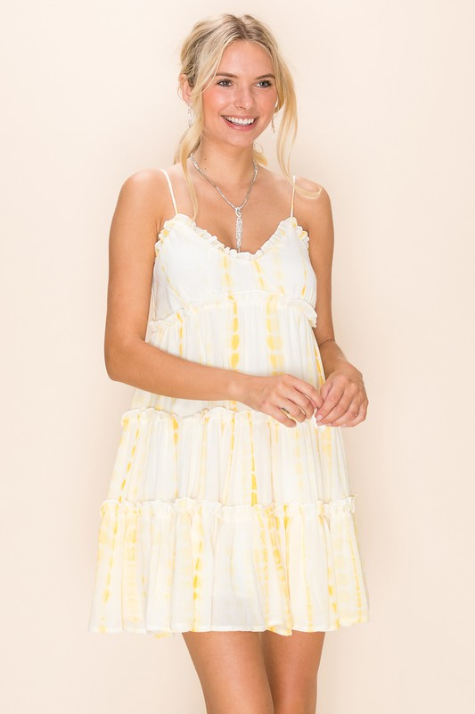 Brenda Dress - Yellow