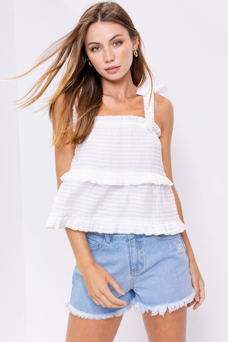 Giselle Top - White