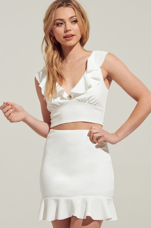 Aubree Top - White